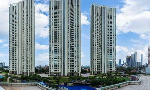 3 BHK Apartment For Rent At Raheja Vivarea, Mumbai Central.