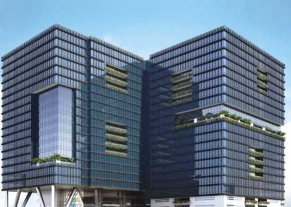 894 Sq.ft. Commercial Office in One BKC at BKC, Bandra East.
