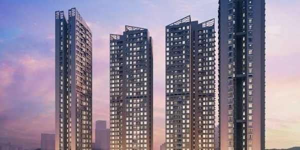 3.5 BHK Apartment For Sale At Kalpataru Radiance, Goregaon West.