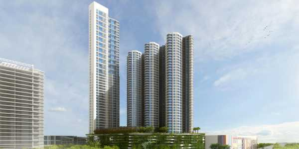 2 BHK Apartment in Lodha Fiorenza at Goregaon East.