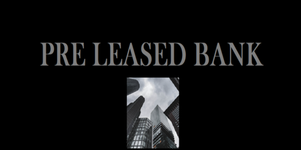 Pre Leased to Bank 1000 sq.ft for sale, which is  One of 4 Galas, One Gala for Sale, in CBD Belapur near Station