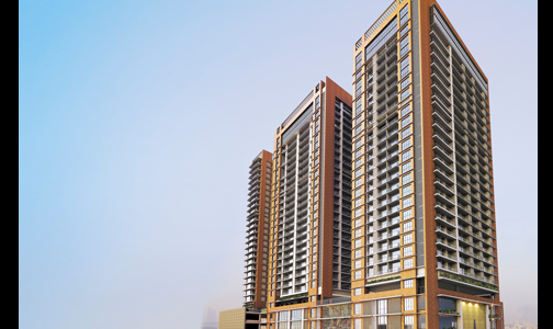 3 BHK Apartment in Adani Western Heights at D.N Nagar, Andheri West.