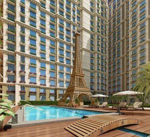 Complex Apartment For Rent: 2 BHK Apartment For Rent At Kanakia Paris, Bandra Kurla